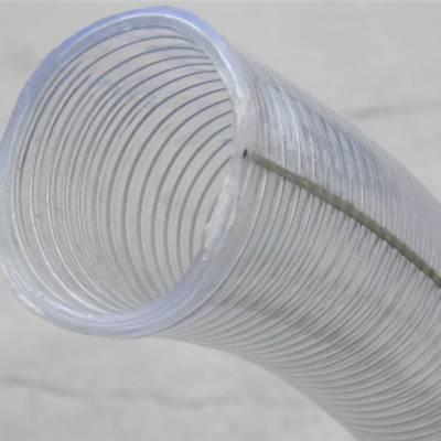 商洛透明钢丝管-pvc透明钢丝管选兴盛-耐高温透明钢丝管