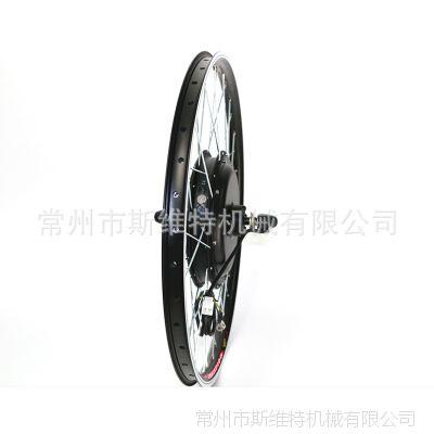 48v1000w电动自行车套件后驱轮毂电机 26*1.75车圈 银色辐条