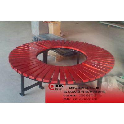 供应武汉郑州铸铁公园椅公园椅户外休闲园林椅欧浪OLON-CH0047