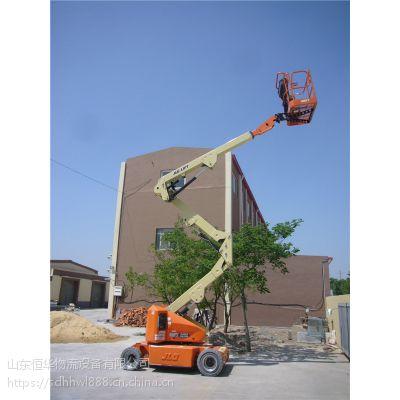 捷尔杰JLG进口升降机 高空作业车租赁 14米E400AN曲臂式液压升降车
