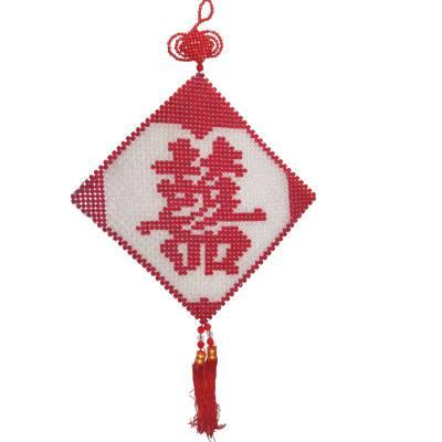 莘县北街手工活名关区在家干的手工活摆挂饰类加工