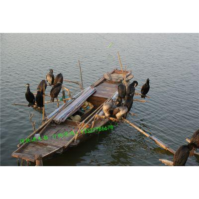 定做传统老鸭船 鸬鹚船 鱼鹰木船 农用手划小木船 厂家直销