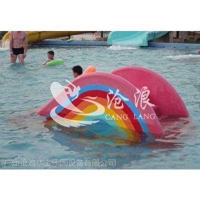 水上乐园设备厂家-受欢迎水上乐园设备-彩虹小滑梯