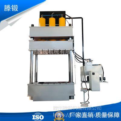 液压机厂家供应伺服1000吨液压机 玻璃钢盖板成型油压机 粉末成型压力机