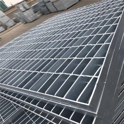 踏步板材质 压焊钢格板 镀锌钢格板厂家