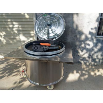 瑞成机械做生意用的-做生意用的煎包锅多少钱一台