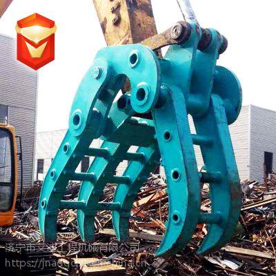 厂家供应挖掘机液压抓石器 360度旋转抓石