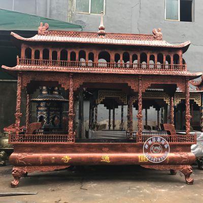 大型生铁香炉 禅相法器铸造山西运城长方形香炉