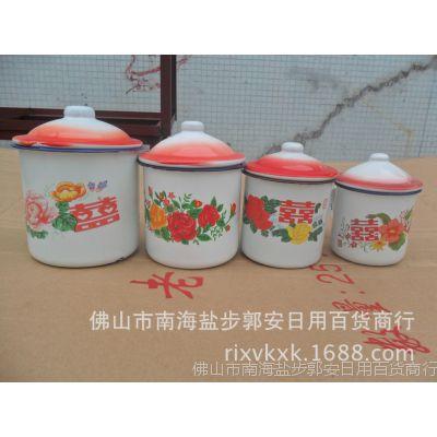 厂家直销耐高温搪瓷口杯 创意陶瓷水杯 怀旧复古搪瓷水杯