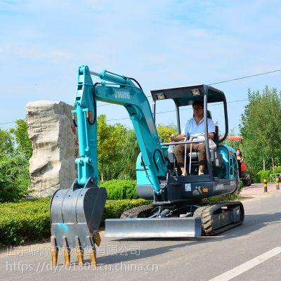 山鼎批发3吨农用挖掘机 国产小挖掘机可用于出租