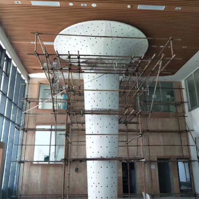 氟碳冲孔铝板来图定制厂家