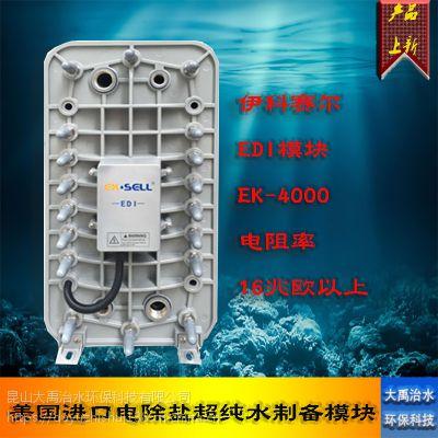 美国进口EDI模块伊科赛尔EK-4000工业电除盐超纯水制备膜堆4T/H