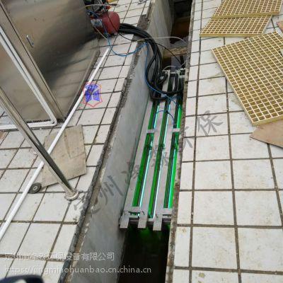 定州净淼定制大型的污水处理设备明渠式紫外线消毒杀菌器