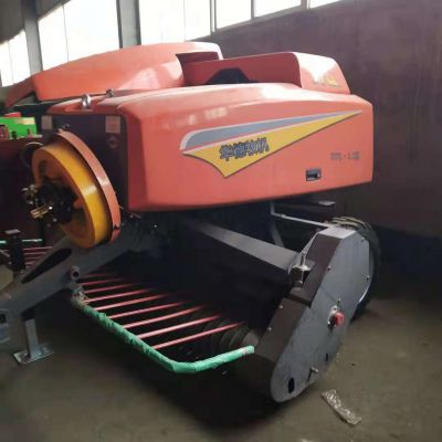拖拉机带动式小麦秸秆捡拾打捆机 玉米秸秆收割粉碎打捆机 鸿磊机械