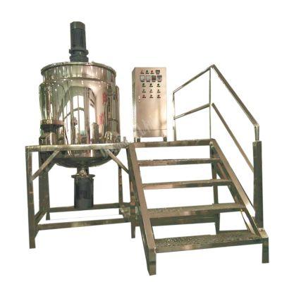 加热立式搅拌机_框式刮板膏体混合设备_搅拌机厂家直销