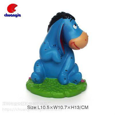 石膏玩具创意卡通海马手工生日礼物定制 树脂小摆件