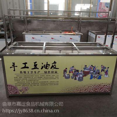 四六盒腐竹油皮机厂家报价 省时省力耐用豆油皮设备