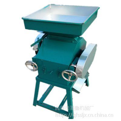 粮油店专用黄豆挤扁机 家用小型挤扁机 圣鲁牌