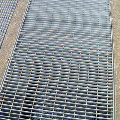 楼梯钢格板报价 格栅板钢格板出售 车库水沟盖板