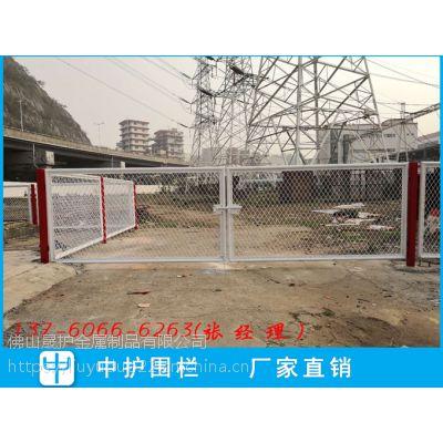 花都度假村带刺铁围栏铁丝网供应商 普宁电站钢丝网护栏