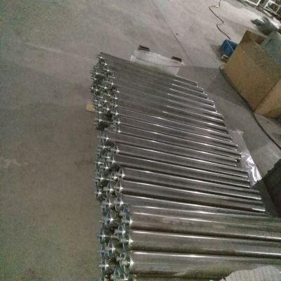 辽宁沈阳优耐德科技供应包胶滚筒积放辊筒输送带辊筒橡胶滚筒