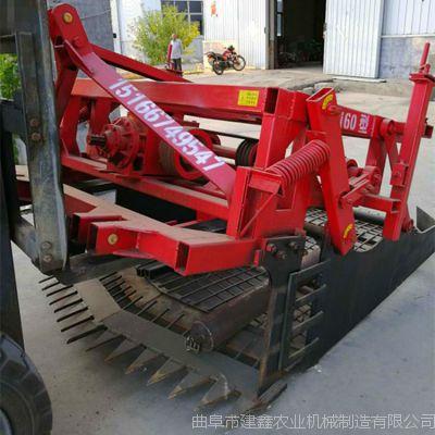 洛阳丹参挖药机厂家震动药材挖掘机拖拉机牵引式震动辣根挖掘机