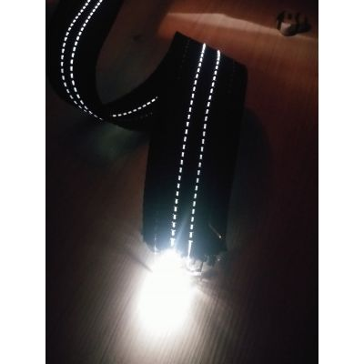 【厂家直销】高强涤纶间导电 导光织带 发光效果持久耐用