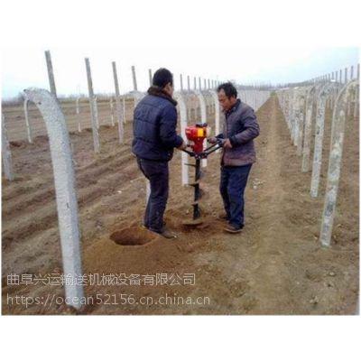 便宜又好用的植树挖坑机 便捷式新型大功率打洞机哪里有卖
