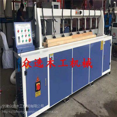众选直线修边机设备价格全自动木门设备