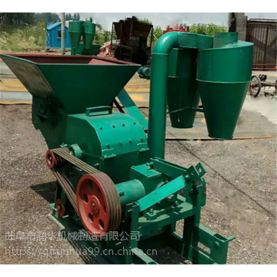 养殖户专用粉碎机 沙克龙秸秆粉碎机 自动喂料牧草揉搓机