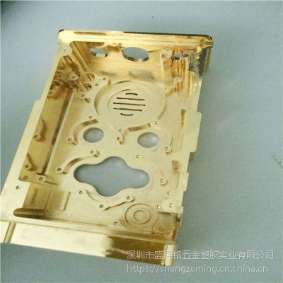 镀金 腔体电镀24K黄金 铝合金镀金加工 真金电镀表面处理
