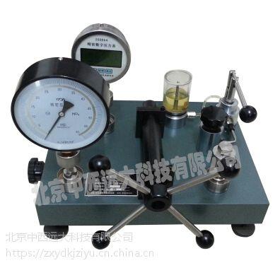 中西压力表校验器0-100MPa 型号:XT10/TY-4010D 库号:M231474