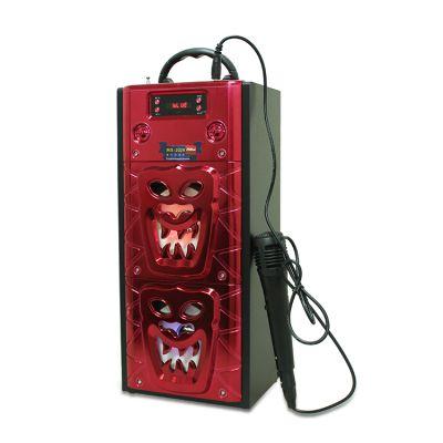 Musiccrown现货促销万圣节双喇叭5W*2 创意礼品插卡手提蓝牙音箱