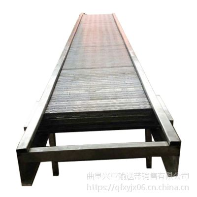 石头输送机厂家 铁件运输链板输送机价格品牌厂家