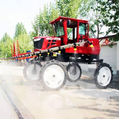 喷杆式喷雾机 水稻自走式打药机 自走式小麦喷药机 玉米喷药机 山东金原装备
