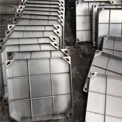 耀恒 南京201不锈钢窨井盖 底板铁板方形井盖 通用建筑五金