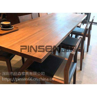 品森简约现代厂家直销 中式火锅桌子 餐厅专用桌椅 简约现代