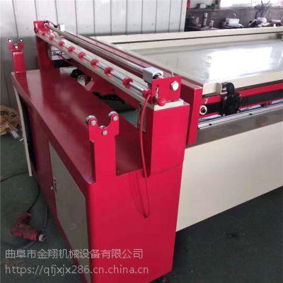 模压门成型吸塑机 相框移门橱柜板PVC外镶线覆面机 一次成型