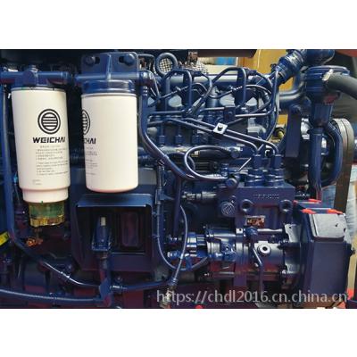 潍柴WP6G125E311电喷发动机 30装载机用国三柴油机