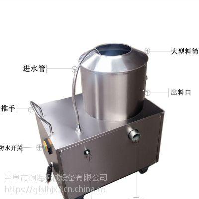 厂家供应多功能脱皮机 小型芋头去皮机高效简单易操作 澜海制造