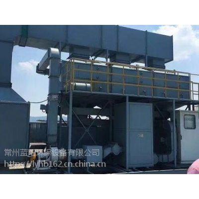 常州催化燃烧设备+催化燃烧炉定做,PLC全新自动安全系统