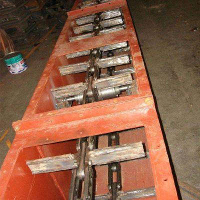 污泥刮板输送机定制轴承密封 自清式刮板输送机