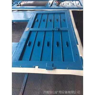 插板式矿用调节风门与百叶窗调节风门的不同点