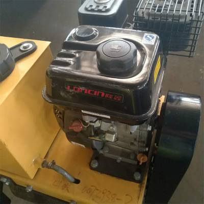 中拓厂家手推单钢轮压路机 汽油柴油单钢轮压路机 座驾式小型压路