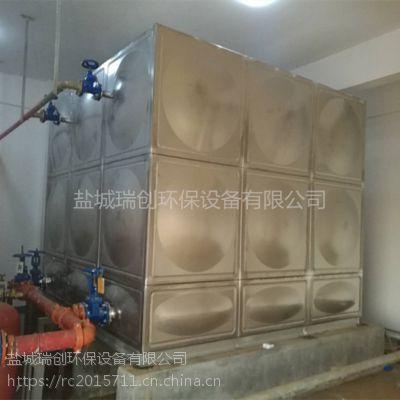 厂家直销不锈钢组合水箱 定制容量 50吨不锈钢保温水箱消防供水设备