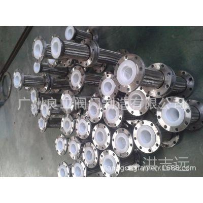 厂家专业生产四氟管 聚四氟乙烯波纹金属软管 化工管道波纹管