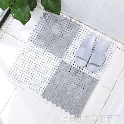 2241浴室防滑垫卫生间拼接垫洗手间厕所隔水脚垫地淋浴房洗澡垫子