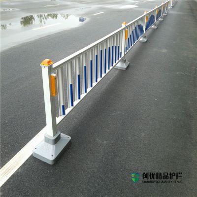 防眩板护栏栏杆防眩目道路隔离栏交通护栏1.2米高市政