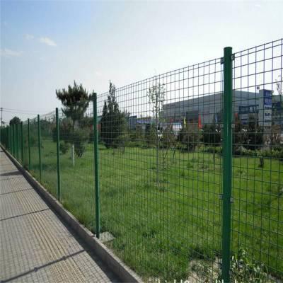 抚州广昌崇仁乐安圈山养殖绿色双边防护网大量现货公路果园双边护栏