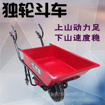 拉草坪独轮车 加强平衡性小推车 奔力DL-MX3